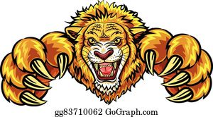 Lion Mascot Clip Art Royalty Free Gograph Lina is quite silly and picks on her younger brother at times, pulling his ear or pushing him down. lion mascot clip art royalty free