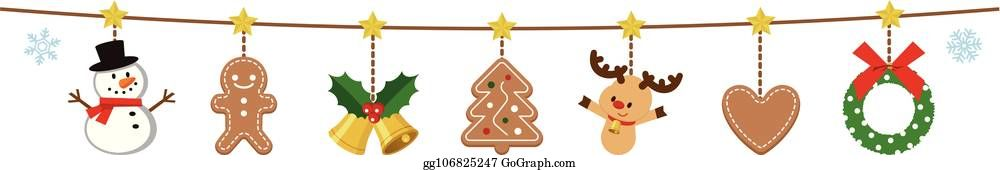 Christmas Garland Clipart.Christmas Garland Clipart Christmas Ornaments Images