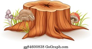 Tree Stump Clip Art Royalty Free Gograph