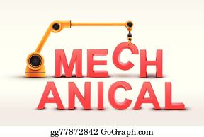 Robotic Arm Clip Art - Royalty Free - GoGraph