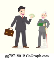 Insurance Agent Clip Art - Royalty Free - GoGraph