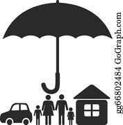 Insurance Clip Art - Royalty Free - GoGraph