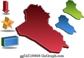 Iraq Outline Clip Art - Royalty Free - GoGraph
