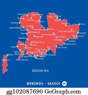 81ae0ebfdb4 welcome to greece with icon hellas illustration in black  island of mykonos  in greece red map illustration