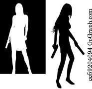 Anime Weapon Girls with guns Firearm, Anime, cg Artwork, manga png | PNGEgg