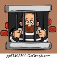Jail - Cartoon Jail Clipart - Full Size Clipart (#12445) - PinClipart