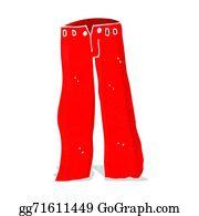Red Pants Clipart Lizenzfrei GoGraph