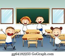 Classroom Clip Art Royalty Free Gograph