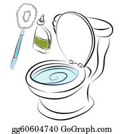 Toilette Clipart - Lizenzfrei - GoGraph