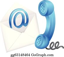 Contact-phone Clip Art At Clker - Contact Clipart - Free Transparent PNG  Clipart Images Download
