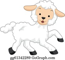 Lamb Clip Art - Royalty Free - GoGraph
