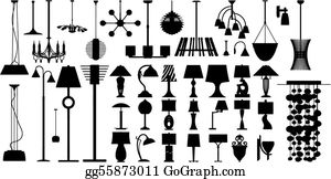 Table Lamps Clip Art Royalty Free Gograph