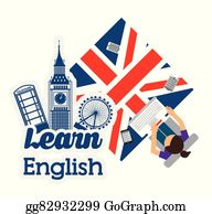 Learn English Clip Art Royalty Free Gograph