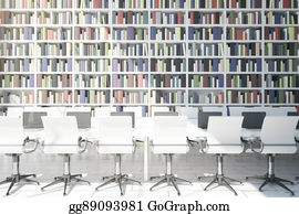Clip Art - School desk front view. Stock Illustration