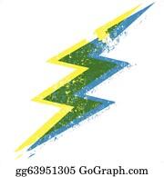 Lightning Bolt Svg Free Clipart (#231829) - PinClipart