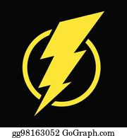 Bolt Clip Art - Royalty Free - GoGraph