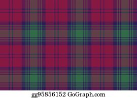 Irish Tartan Clip Art - Royalty Free - GoGraph