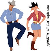 ᐈ Country dance stock images, Royalty Free country western dance cliparts |  download on Depositphotos®