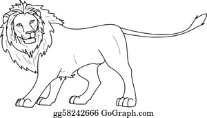 Lion Clip Art Royalty Free Gograph Lion clip art outline vector graphics (1017 results ). lion clip art royalty free gograph