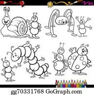 Lizenzfreie Bugs Clipart - GoGraph