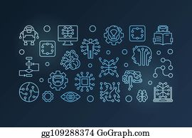 Machine Learning Vectors Royalty Free Gograph