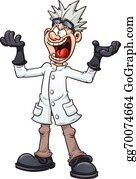 216 mad scientist clipart free | Public domain vectors