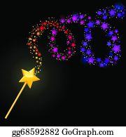 free clip art magic wand