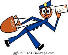 Cartoon Postman Images, Stock Photos & Vectors | Shutterstock