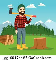 Cutting Tree Clip Art Royalty Free Gograph
