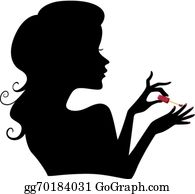 Manicure Clip Art - Royalty Free - GoGraph
