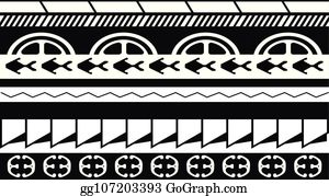 78f1c6647 Maori / Polynesian Tattoo Style Ornament - Ready for Print and used for  Stencyl as Custom