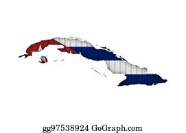 Cuba Outline Map Stock Illustrations Royalty Free Gograph