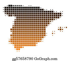 Map Of Spain Vector Free.Spain Clip Art Royalty Free Gograph