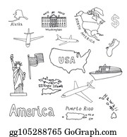 Vector Illustration - Usa 50 states in color, with puerto rico and ...