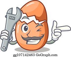 Mechanical Bird Clip Art - Royalty Free - GoGraph