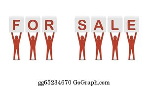 drawing men holding the words x mas sale concept 3d illustration