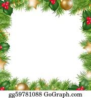Christmas Border Clipart Landscape.Christmas Border Clip Art Royalty Free Gograph