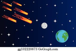 Royalty Free Asteroid Vectors - GoGraph