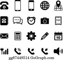 Phone Icon Clip Art Royalty Free Gograph