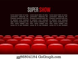 Seats Stage Cartoon Royalty Free Gograph