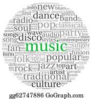 stock illustration music genre clipart gg63219132 gograph