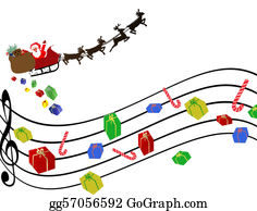 Red - Music - Notes - Clip - Art Dibujos Siluetas, - Christmas Musical  Notes Clipart PNG Image | Transparent PNG Free Download on SeekPNG