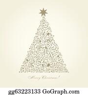 Christmas Music Clip Art - Royalty Free