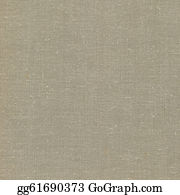 Natural Vintage Linen Burlap Textured Fabric Texture Detailed Old Grunge Rustic Background In Tan