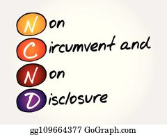 Non Disclosure Agreement Clip Art Royalty Free Gograph