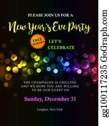 new year party new year party invitation