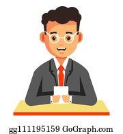 Correspondent Stock Illustrations – 2,112 Correspondent Stock  Illustrations, Vectors & Clipart - Dreamstime