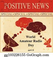 Amateur Radio Clip Art - Royalty Free - GoGraph