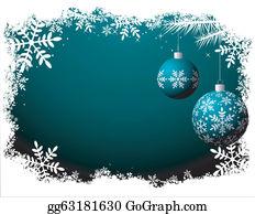 Christmas Scene Clip Art - Royalty Free