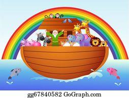 Pin By Marina - Cute Noah's Ark Cartoon , Free Transparent Clipart -  ClipartKey